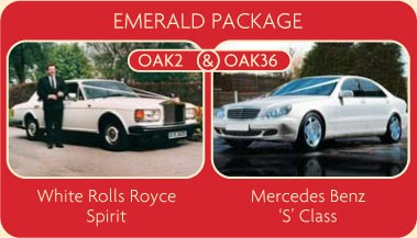Hire this white Rolls Royce Spirit and Mercedes Benz S Class